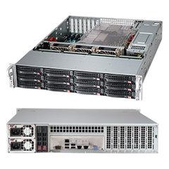 Supermicro 2U server CSE-826BE16-R920LPB, black