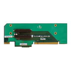 SUPERMICRO 2U UIO Riser to 2 x PCI-E 8x Slot