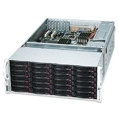 "SUPERMICRO 4U chassis 36x 3,5"" HS SAS/SATA (24x Frong + 12x Rear, Dual exp. SAS2/6Gb - 2x(1 + 1) SFF 8087) ,2x1280W(Pla)"