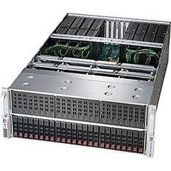 "SUPERMICRO 4U GPU server 2xLGA-3647, C622, 24x DDR4 ER, 24x HS (2,5""), 8x GPU ready, 2+2 2000W, 2x10Gb BaseT,IPMI"