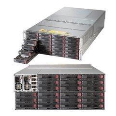 "SUPERMICRO 4U JBOD chassis 90x 3,5"" HS SAS/SATA (single expander 4x SFF 8644 + IPMI), 2x2000W (80PLUS Titanium)"