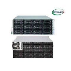 "SUPERMICRO 4U JBOD Storage, 44x 3,5"" HS HDD (24 front + 20 rear) Expander SAS3 (12Gb/s) 2x1280W (Plat.)"
