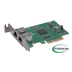 Supermicro AOC-SGP-I2 - Standard LP 2-port GbE with Intel i350