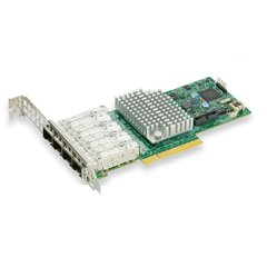SUPERMICRO AOC-STG-I4S Quad SFP+ 10Gb/s, PCI-E 3.0 8x (8GT/s) Card, LP