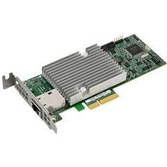 Supermicro AOC-STGS-I1T 10GbE Standard LP PCI-E x4 Intel® X550-AT 1 RJ45 (10GBase-T) 9W
