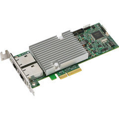 Supermicro AOC-STGS-I2T Standard Low-profile dual-port 10Gbase-T with NC-SI, Intel X550, 11W