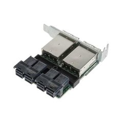 Supermicro AOM-SAS3-16I16E 16-port Mini SAS HD Int-to-Ext cable adapter w/ FH brack