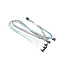 Supermicro Crossover MiniSAS HD (Target) to 4 SATA (Host) 75cm - CBL-SAST-0823