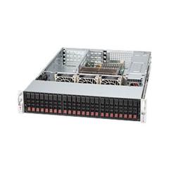 Supermicro CSE-216A-R900UB, 2U, UIO 24SFF, noCD, UIO, 900W, černá
