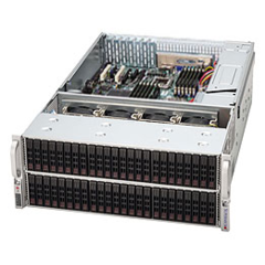 Supermicro CSE-417E26-R1400LPB,4U,eATX13 24+24+24 SAS2 SFF (dual SAS2 exp.),rPS 1400W(80+ GOLD),čern