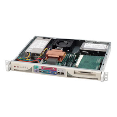 "Supermicro CSE-513F-260, mini1U,1xfixed 3,5"" HDD,260W, béžový"