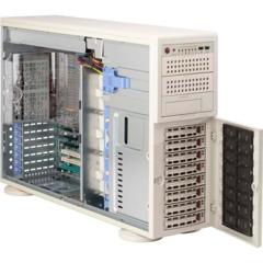 """Supermicro CSE-745TQ-800, 4U/tower, eATX13, 8sATA/SAS, 3x5,25"""", 800W, béžové"""