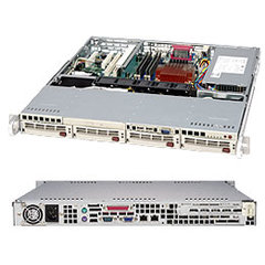 Supermicro CSE-813MS-520C