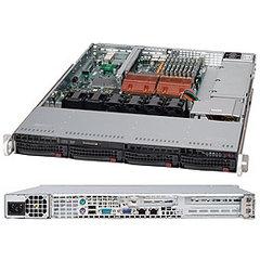 """Supermicro CSE-815TQ-710UB, 1U, 4x 3,5"""" SATA/SAS, 710W, black"""
