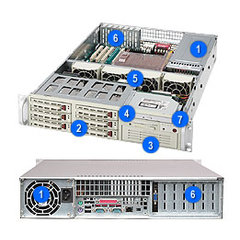 Supermicro CSE-823T-550LP