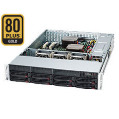 Supermicro CSE-825TQ-563LP