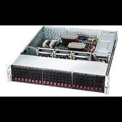 Supermicro CSE-826E16-R1200LP 2U eATX13,12sATA/SAS2,(SAS2 exp.),noCD,rPS (GOLD 80+),7LP, black