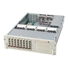 "Supermicro CSE-833T-R760 3U eATX13, 8sATA, 2x5,25"", slimCD, rPS 760W"