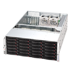 Supermicro CSE-846A-R1200B, 4U eATX, sATA/SAS, SlimCD, 1200W, black
