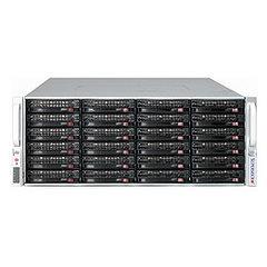 "Supermicro CSE-847E26-R1400LPB, 4U, 36x 3.5"" SAS/SATA,LP,2x1400W,expander"