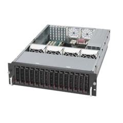 Supermicro CSE-936A-R900, 3U, eATX, 16sATA(4xSFF-8087), rPS 900W,černé
