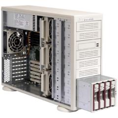 Supermicro CSE-942I-650B, 4U/tower, 650W, černá