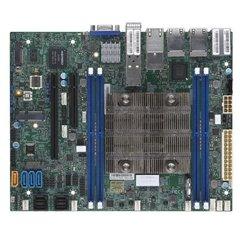 SUPERMICRO FlexATX MB Xeon D-2146NT(8C/16T),4xDDR4 RDIMM,4xSATA,2xU.2,2x PCIe 3.0 x8,x16, M.2, 8xLAN(6xRJ45,2xSFP+),IPMI