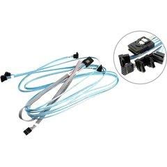 Supermicro Internal MiniSAS (Host) to 4 SATA (Target) Right Angle 70/70/90/90cm - CBL-0388L