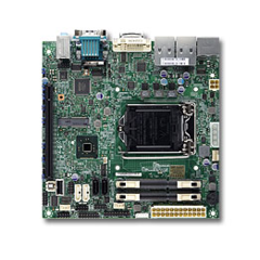 SUPERMICRO MB 1xLGA1150, H81,DDR3 SO-DIMM,4xSATA3, (1x PCI-E3.0 x16,,Mini-PCI-Ew mSATA sup.), Audio