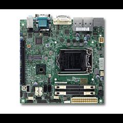 SUPERMICRO MB 1xLGA1150, H81,DDR3 SO-DIMM,4xSATA3, (1x PCI-E3.0 x16,,Mini-PCI-Ew mSATA sup.), Audio