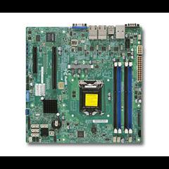 SUPERMICRO MB 1xLGA1150, iC224,DDR3,4xSATA3,2xSATA2,(1x PCI-E3.0 x16,1x PCI-E2.0 x2), 4x LAN, IPMI (bulk)