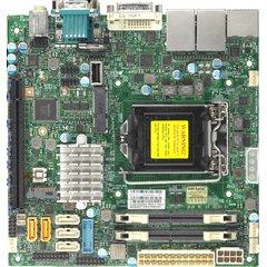 SUPERMICRO MB 1xLGA1151 (i7), Q170,DDR4,5xSATA3,PCIe 3.0 (1 x16),1xM.2,HDMI,DP,DVI,Audio (blk)
