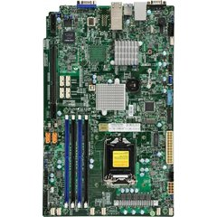 SUPERMICRO MB 1xLGA1151, iC236,DDR4,8xSATA3,PCIe 3.0 (1 x8 (in x16), 1 x8, 1 x4 (in x8)), 1x M.2 NGFF, IPMI (bulk), 4x LAN