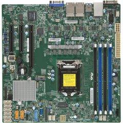 SUPERMICRO MB 1xLGA1151, iC236,DDR4,8xSATA3,PCIe 3.0 (1 x8 (in x16), 1 x8, 1 x4 (in x8)), 1x M.2 NGFF, IPMI (bulk)
