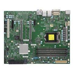 SUPERMICRO MB 1xLGA1151 (Xeon E3-21xx, i3), C246,4xDDR4,8xSATA3,2xM.2,4xPCIe 3.0 (x16,x8,x4,x1),HDMI,DP,DVI,Audio,2x LAN