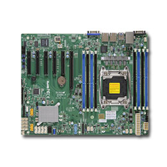 SUPERMICRO MB 1xLGA2011-3, iC612 8x DDR4 ECC,10xSATA3,(PCI-E 3.0/1,2,1(x16,x8,x4) PCI-E 2.0/1,1(x2,x4),2x LAN,IPMI