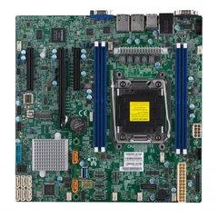 SUPERMICRO MB 1xLGA2066, iC422,4x DDR4 ECC,8xSATA3, 4x Oculink, PCI-E 3,0 1,2 (x16,x8), 2x LAN,IPMI