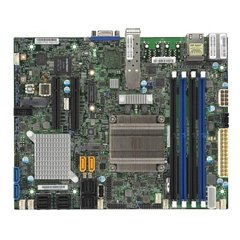 SUPERMICRO mini-ITX MB Xeon D-1537 (8-core), 4x DDR4 ECC DIMM,6xSATA,16xSAS3,2x PCI-E 3.0 x8, 2x10Gb SFP+ LAN,IPMI