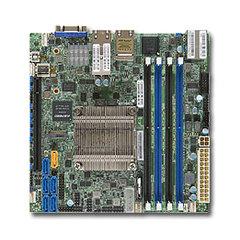 SUPERMICRO mini-ITX MB Xeon D-1541 (8-core), 4x DDR4 ECC RDIMM,6xSATA3.0, 1x PCI-E 3.0 x16, 2x10GbE RJ45,2x1GbE,IPMI