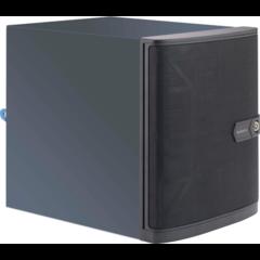 """SUPERMICRO Mini-Tower 4x 3,5"""" HS SATA HDD + 2x Internal 2,5"""" SATA HDD,1x LP slot, 250W"""