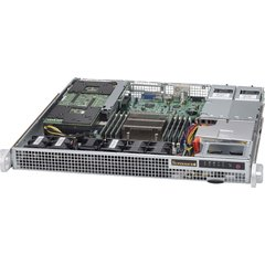 "SUPERMICRO mini1U chassis 2x internal Drive Bays 2,5"", 2x400W (Gold) (WIO)"
