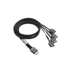 Supermicro OCuLink (Host) to 4 SATA (Target) 50cm - CBL-SAST-0933