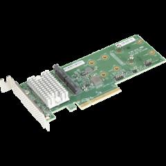 Supermicro RAID Card Hybrid M.2. - AOC-SLG3-2H8M2
