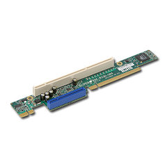 Supermicro RSC-R1UU-UAX, Riser card 1U 1x UIO + 1x PCI-X 133MHz Slot - LEFT SIDE
