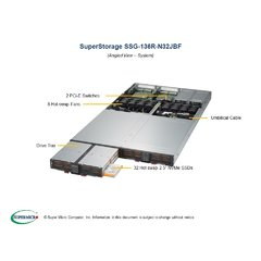 Supermicro SSG-136R-N32JBF