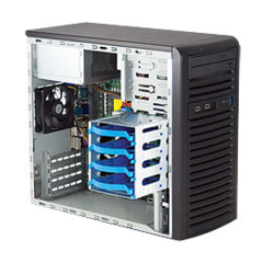 Supermicro SYS-5037C-I, Mid-Tower server (SYS-5037C-I)