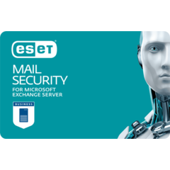 Update ESET Mail Security pro MS Exchange, 14 mailboxů, 1 rok