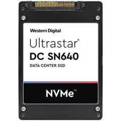 """WD/HGST SN640 3200GB 7mm 2.5"""" NVMe U.2 TLC ISE 2DWPD, 0TS1954 - WUS4BB032D7P3E3"""