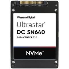 """WD/HGST SN640 3840GB 7mm 2.5"""" NVMe U.2 TLC ISE 0.8DWPD, 0TS1929 - WUS4BB038D7P3E3"""