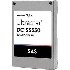 """WDC/HGST Ultrastar SS530 1.6TB SAS 12Gb/s 2.5"""" 3D TLC 3DWPD, 0B40334 - 0B40334"""